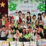 Oriflame vui Noel cùng trẻ em Tam Bình