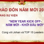Oriflame 12-2012: Sự kiện đón năm mới 2013 tại nhà riêng TGĐ Oriflame Việt Nam