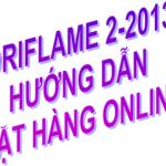 Oriflame 2-2013: Hướng dẫn đặt hàng online