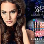 Giảm giá 70% bộ dụng cụ trang điểm mới của Oriflame giúp bạn tỏa sáng rực rỡ!