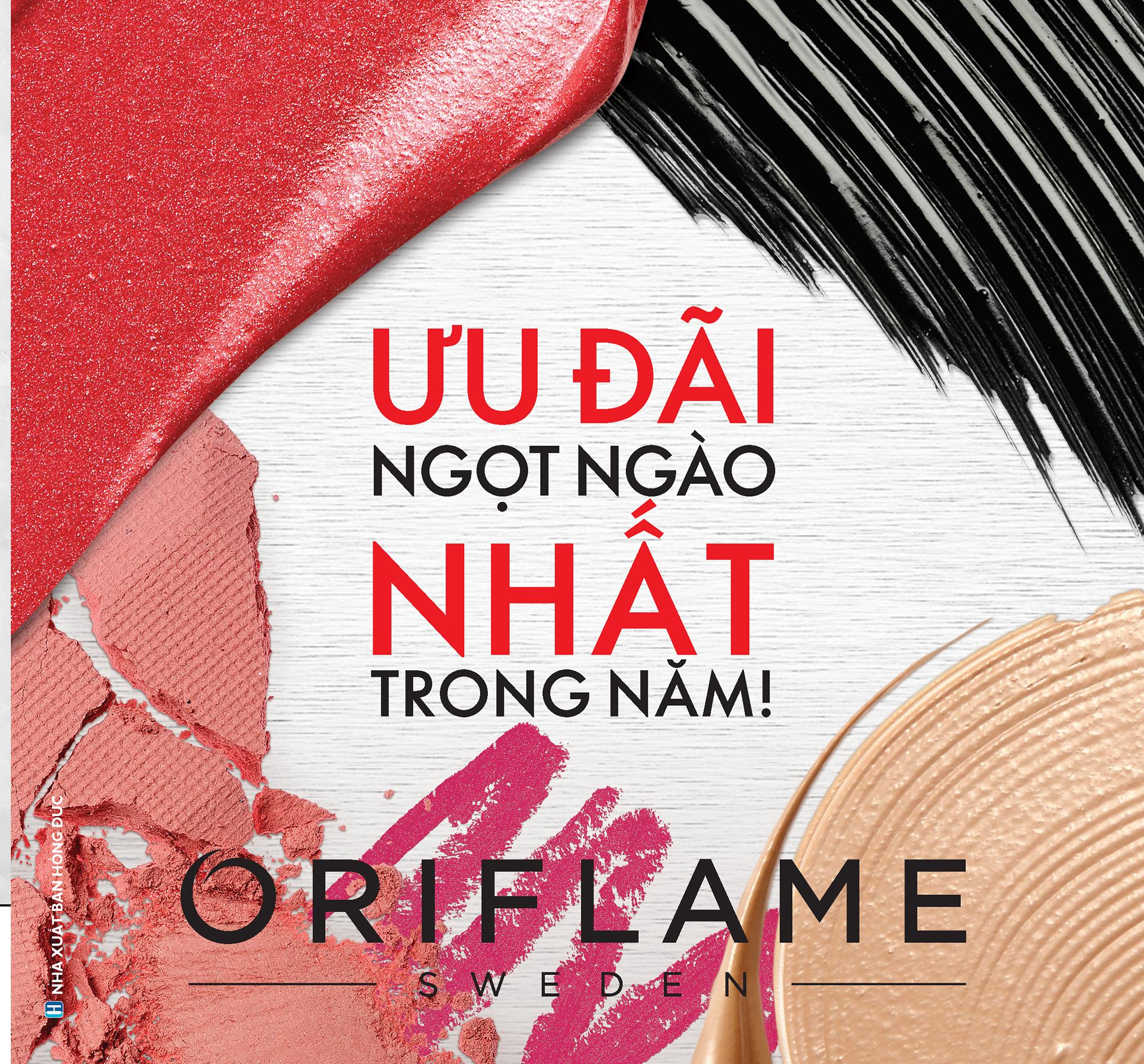 Catalogue mỹ phẩm Oriflame 7-2020