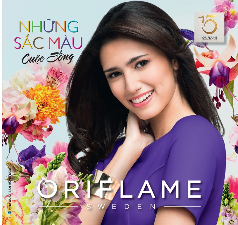 Catalogue My Pham Oriflame 9-2018
