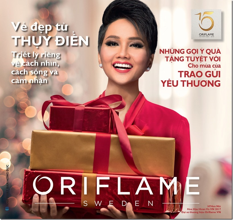 Catalogue mỹ phẩm Oriflame 12-2018