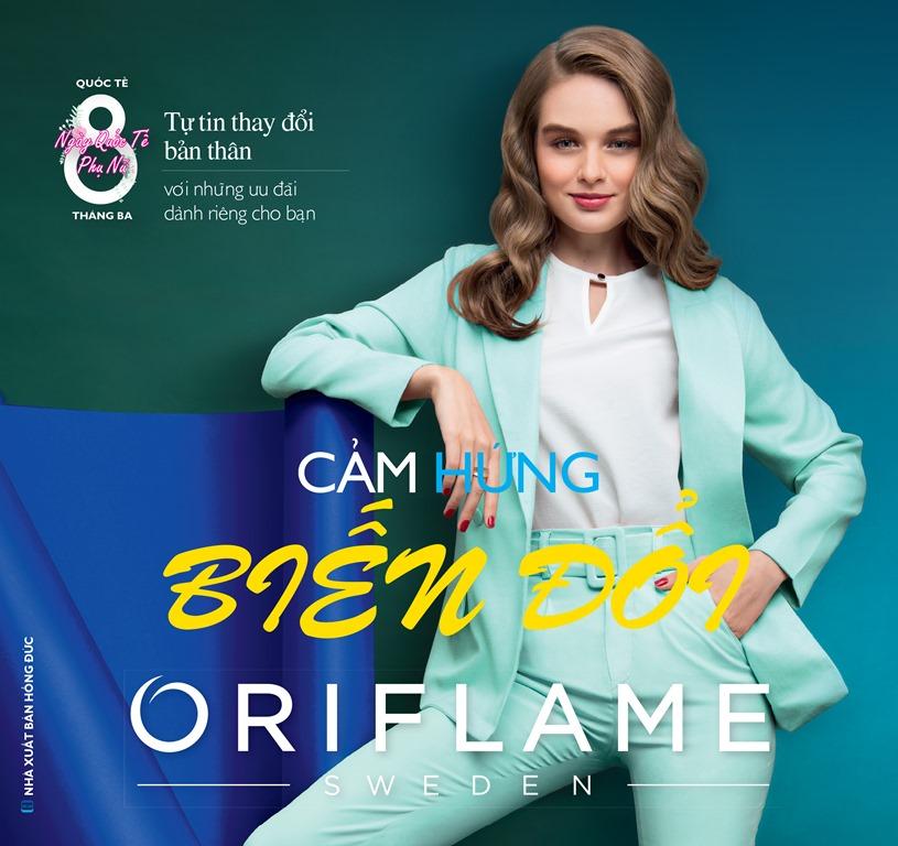 Catalogue mỹ phẩm Oriflame 3-2019